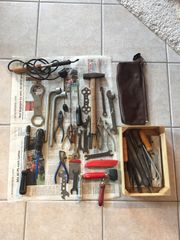 Werkzeug alt gemischt Hammer Zangen