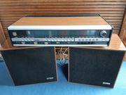 Rema toccata mit dazugehörigen Lautsprecherboxen