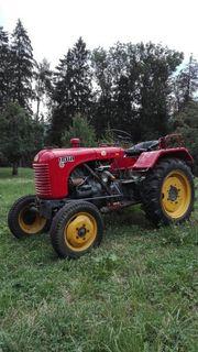 Steyr T84 18er mit Mähwerk