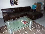 Ikea Sofa dunkelbraun