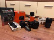 Komplett-Set Sony Alpha a58 Spiegelreflexkamera