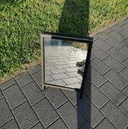 Aufstellbare Spiegel beidseitig