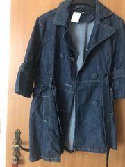 Spring Sommer Frauen jeans Mantel