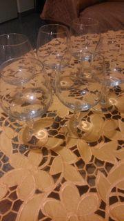 Gläser 10 Euro komplett
