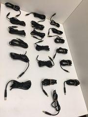 19 Stück Kabel mit Stecker