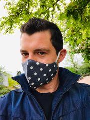 1X Maske Schutz Mund 3-Lagen