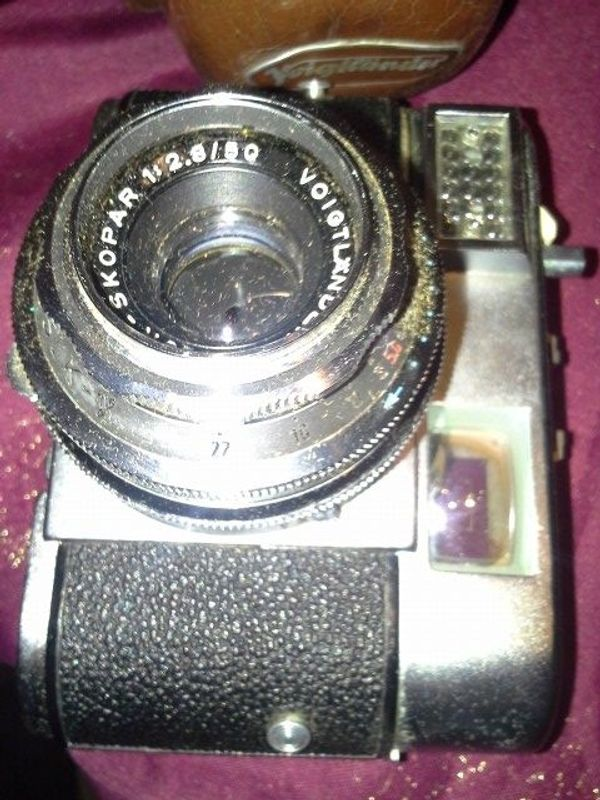 Voigtländer 60er Jahre Kamera Vitomatic