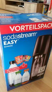 Sodastream Easy schwarz Vorteilspack orignalverpackt