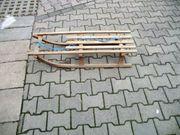 Schlitten Rodel Holzschlitten