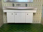 Doppelwaschbecken mit Unterschrank Waschtisch Badmöbel
