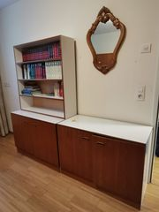 Schrank Sideboard Regal Holz weiß