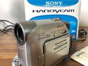 Sony DCR - HC17E Camcorder mit