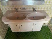 Doppelwaschbecken mit Unterschrank Waschbecken Badmöbel