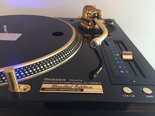 Technics SL-1200 GLD