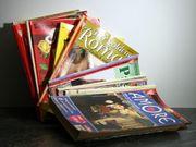 Hunderte Liebesromane Verschiedene Titel unsortiert