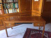 Edler Massivholz-Schreibtisch aus Italien Liebhaberstück