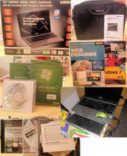 Notebook mit Software
