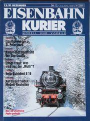 Eisenbahn Kurier-Modell und Vorbild 12