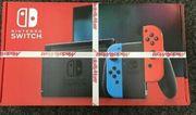 Nintendo Switch Konsole Neon Rot