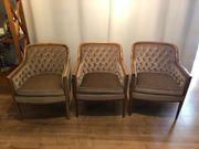 3 Sessel von 1960