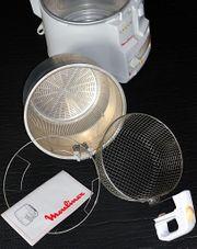 Moulinex Friteuse mit Geruchsfilter für