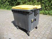 Mülltonne 1100Liter neuwertig gebraucht