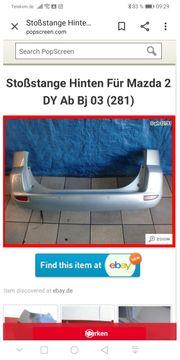 Stoßstange hinten Mazda 2 dy