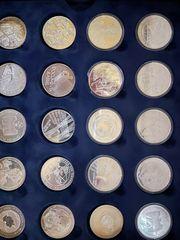 Verkaufe 10 Euro sammelmünzen