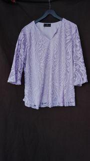 Gr 50 Shirt mit Ornamenten-Muster