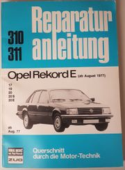 Reparaturanleitung Opel Rekord E ab