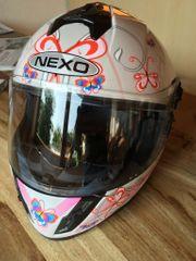 Mädchenhelm Motorradhelm neu Nexo FF392