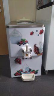 Hochwertige Softeismaschine Eismaschine 1 Zapfer