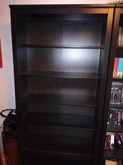 Hemnes Bücherregal schwarzbraun
