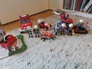 Playmobil Rettungseinsatz Polizei und Feuerwehr