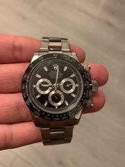 Rolex Gold Silber Uhr Automatik