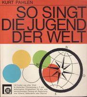 Liederbuch So singt die Jugend