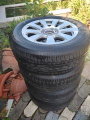 Reifen und ALU Felgen Mercedes