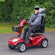 Elektromobil Seniorenmobil Elektro-Scooter 15 km