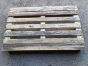 Holzpalette gebraucht für schwere Lasten