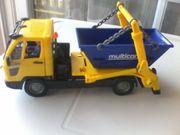 Spielzeugauto - Containerfahrzeug - Lastwagen mit Container -