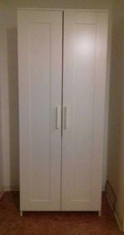 Kleiderschrank 2-türig klein und kompakt