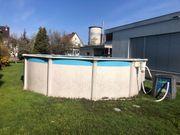 Pool mit 400 cm Durchmesser