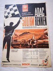 ADAC 500km Rennen Nürburgring 1967