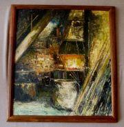 Gemälde Willi Holtmann 1908 Duisburg -