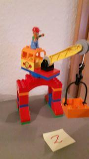 Lego Duplo Eisenbahn Kran Boot