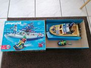 Playmobil Polizeiboot mit Orig Verpackung