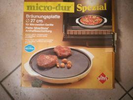 Geschirr und Besteck - Mikrowellen-Bräunungsplatte