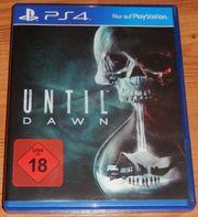 Untill Dawn für PS4