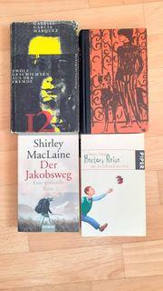4 Romane zu verschenken
