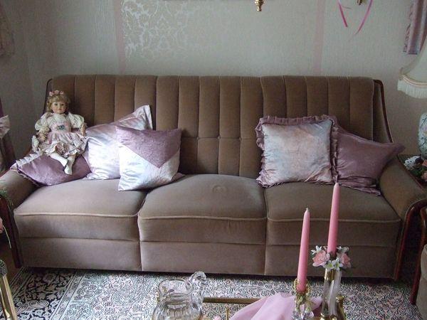 Jugendstil-Couchgarnitur sehr gut erhalten selten